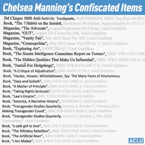 Chelsea's confiscated list